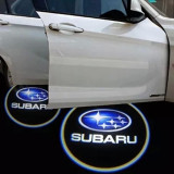 Subaru, set LED logo laser auto, portiera, pe timp de noapte, welcome light