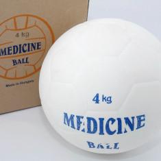 Minge medicinala din cauciuc 4 kg - umpluta cu lichid - Minge Fitness