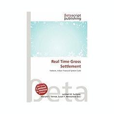 Real Time Gross Settlement - Carte in engleza