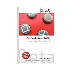 Garfield (Atari 2600) - Carte in engleza