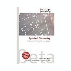 Spectral Geometry - Carte in engleza