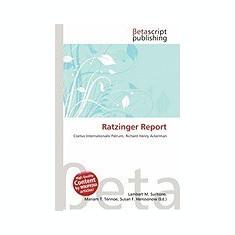 Ratzinger Report - Carte in engleza