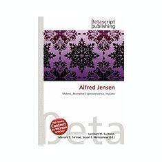 Alfred Jensen - Carte in engleza