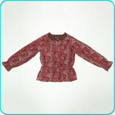 DE FIRMA _ Bluza din panza de bumbac, marca H&M _ fete | 6 - 7 ani | 122, Marime: Alta, Culoare: Multicolor