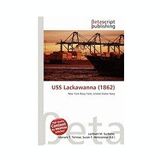 USS Lackawanna (1862) - Carte in engleza
