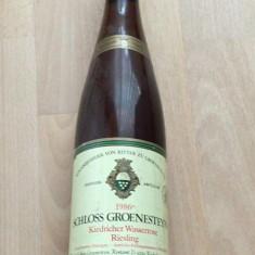 Vin rose de colectie vechi nemtesc anul 1986 Riesling