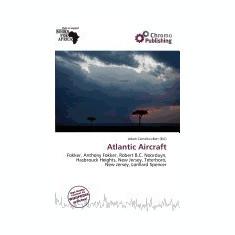 Atlantic Aircraft - Carte in engleza