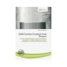 2008 Carlton Football Club Season - Carte in engleza