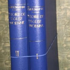 Histoire de l'Eglise ancienne / H. Lietzmann 2 volume legate - Carti Istoria bisericii