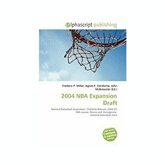 2004 NBA Expansion Draft - Carte in engleza