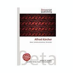 Alfred Karcher - Carte in engleza