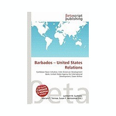 Barbados - United States Relations - Carte in engleza