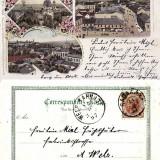 Cernauti , Bucovina - litografie 1897