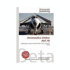 Aeronautica Umbra Aut.18 - Carte in engleza