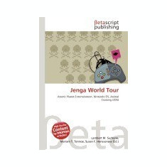 Jenga World Tour - Carte in engleza