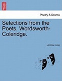 Selections from the Poets. Wordsworth-Coleridge.