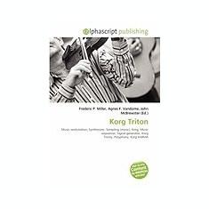 Korg Triton - Carte in engleza