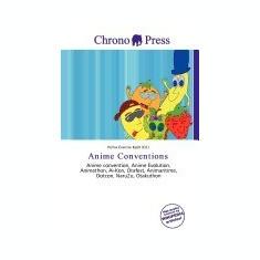 Anime Conventions - Carte in engleza