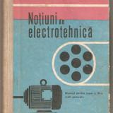 Notiuni de electrotehnica-Mihai Sandulescu - Carti Electrotehnica