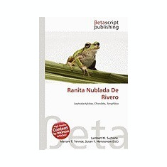 Ranita Nublada de Rivero - Carte in engleza