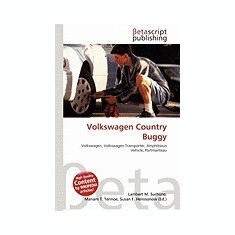 Volkswagen Country Buggy - Carte in engleza