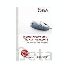 Arcade's Greatest Hits: The Atari Collection 1 - Carte in engleza