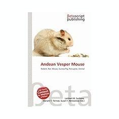 Andean Vesper Mouse - Carte in engleza