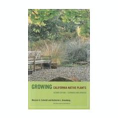 Growing California Native Plants - Carte in engleza