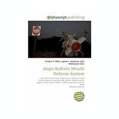 Aegis Ballistic Missile Defense System - Carte in engleza