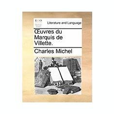 Uvres Du Marquis de Villette. - Carte in engleza