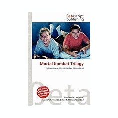 Mortal Kombat Trilogy - Carte in engleza