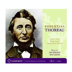 Essential Thoreau: Excerpts from the Journal of Henry David Thoreau - Carte in engleza