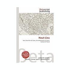 Haut-Lieu - Carte in engleza