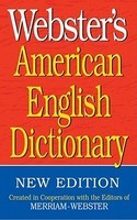 Webster's American English Dictionary foto