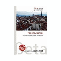 Pauline, Kansas - Carte in engleza