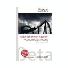 Maverick (Roller Coaster) - Carte in engleza
