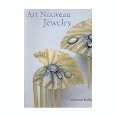 Art Nouveau Jewelry - Carte in engleza