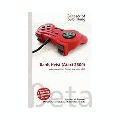 Bank Heist (Atari 2600) - Carte in engleza