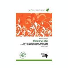 Baron Geisler - Carte in engleza