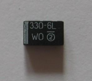Condensator 330uF/6,3V SMD cu tantal foto