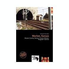 Marion, Kansas - Carte in engleza