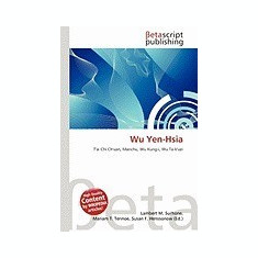Wu Yen-Hsia - Carte in engleza