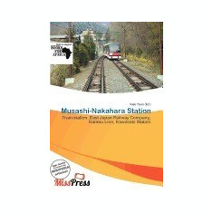 Musashi-Nakahara Station - Carte in engleza