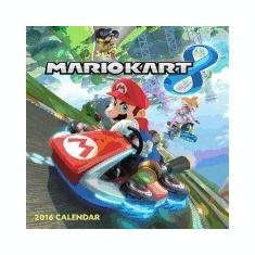 Mario Kart 2016 Wall Calendar - Carte in engleza