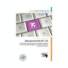 Messerschmitt Bf 110 - Carte in engleza