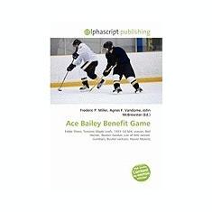 Ace Bailey Benefit Game - Carte in engleza