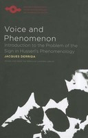 Voice and Phenomenon: Introduction to the Problem of the Sign in Husserl's Phenomenology foto