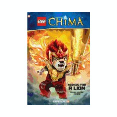Lego Legends of Chima #5: Wings for a Lion - Carte in engleza