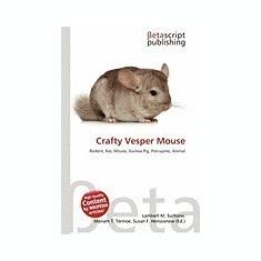 Crafty Vesper Mouse - Carte in engleza