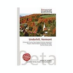 Underhill, Vermont - Carte in engleza